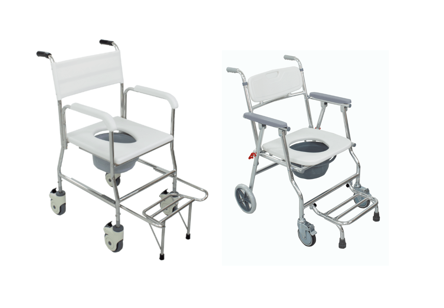 Toileting-commode-chairs-foldable-and-can-shower-with-it