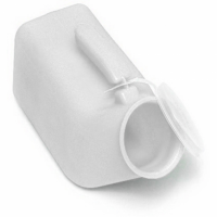 The-reusable-thermoplastic-male-urine-bottle-is-ideal-for-male-patients-or-users-confined-to-bed-or-with-limited-mobility.-The-wide-opening-enables-entry-and-is-easy-for-cleaning-and-drying-after-use.-The-attached-lid-when-covered,-prevents-unpleasant-smell-and-limits-spillage.