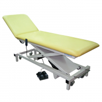 Robust-2-section-examination-couch-with-electric-powered-adjustable-backrest-and-high-low-functions.