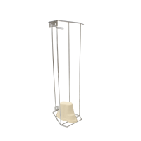 Stainless-Steel-Wall-Mount-Dispensing-Rack-for-Kidney-Dish.-Ideal-for-storing-up-to-100-pieces-of-smaller-medical-pulp-items-like-kidney-dishes,-graduated-measuring-jugs-and-general-purpose-pot-2L.